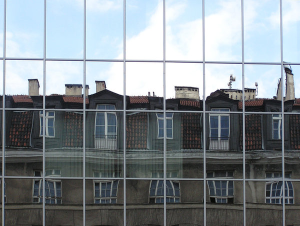 venster spiegel