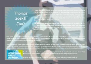 Thomas zoekt