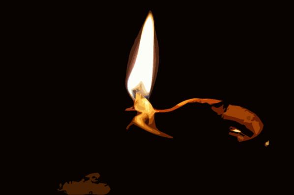 vuur duisternis