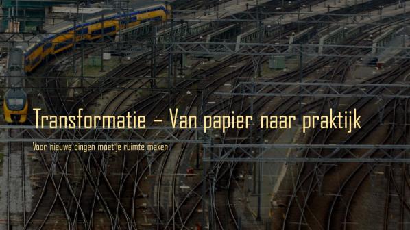 pic Transformatie - Van papier naar praktijk